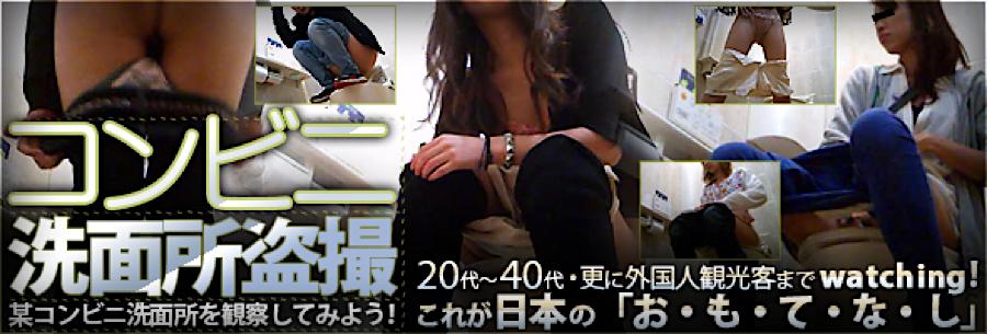 無修正エロ動画|コンビニ洗面所盗SATU|おまんこパイパン