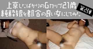 無修正エロ動画|★Gカップ21歳純粋娘|マンコ無毛