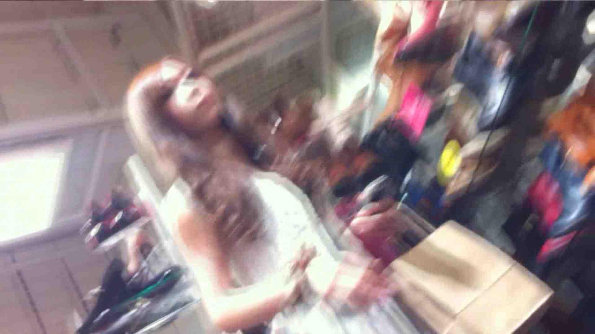無修正エロ動画 vol.38 美人アパレル胸チラ&パンチラ いい感じに食い込んでます のぞき本舗 中村屋