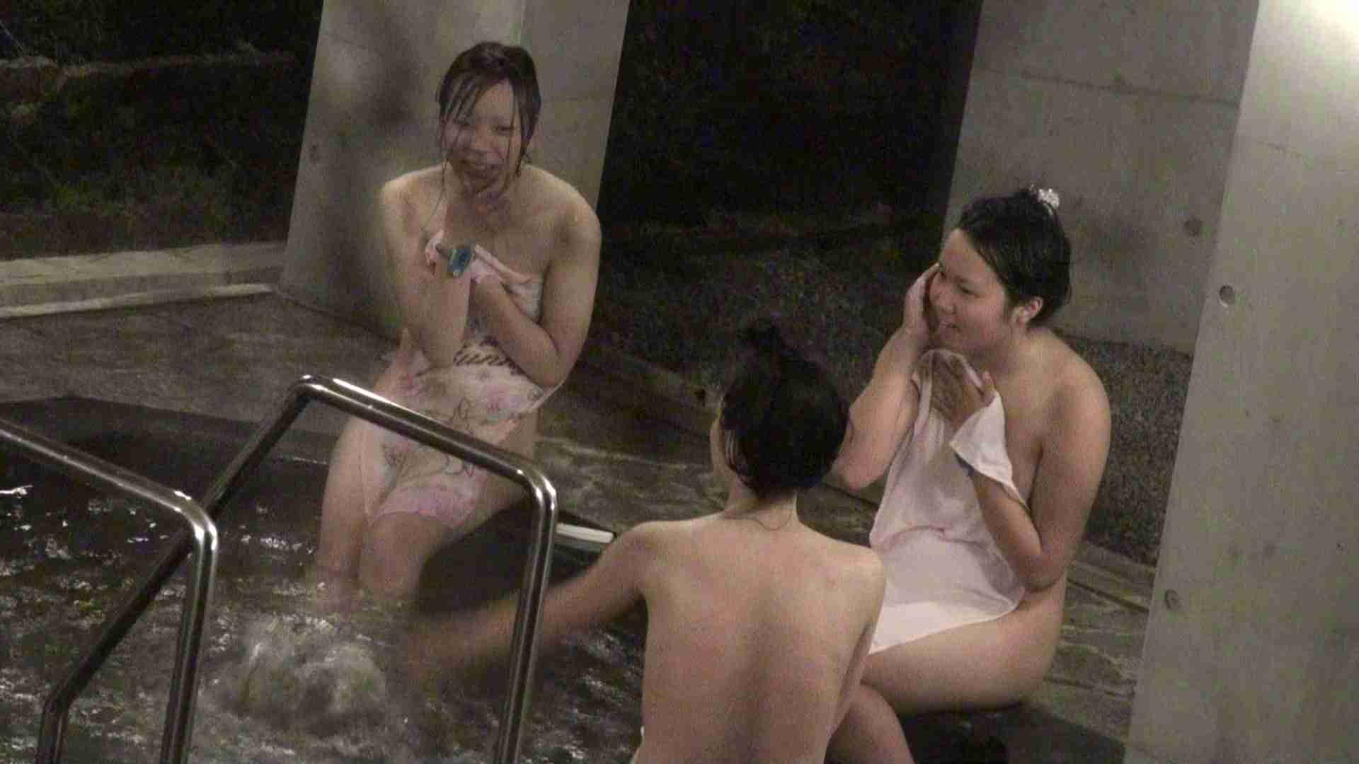 無修正エロ動画 Aquaな露天風呂Vol.383 のぞき本舗 中村屋