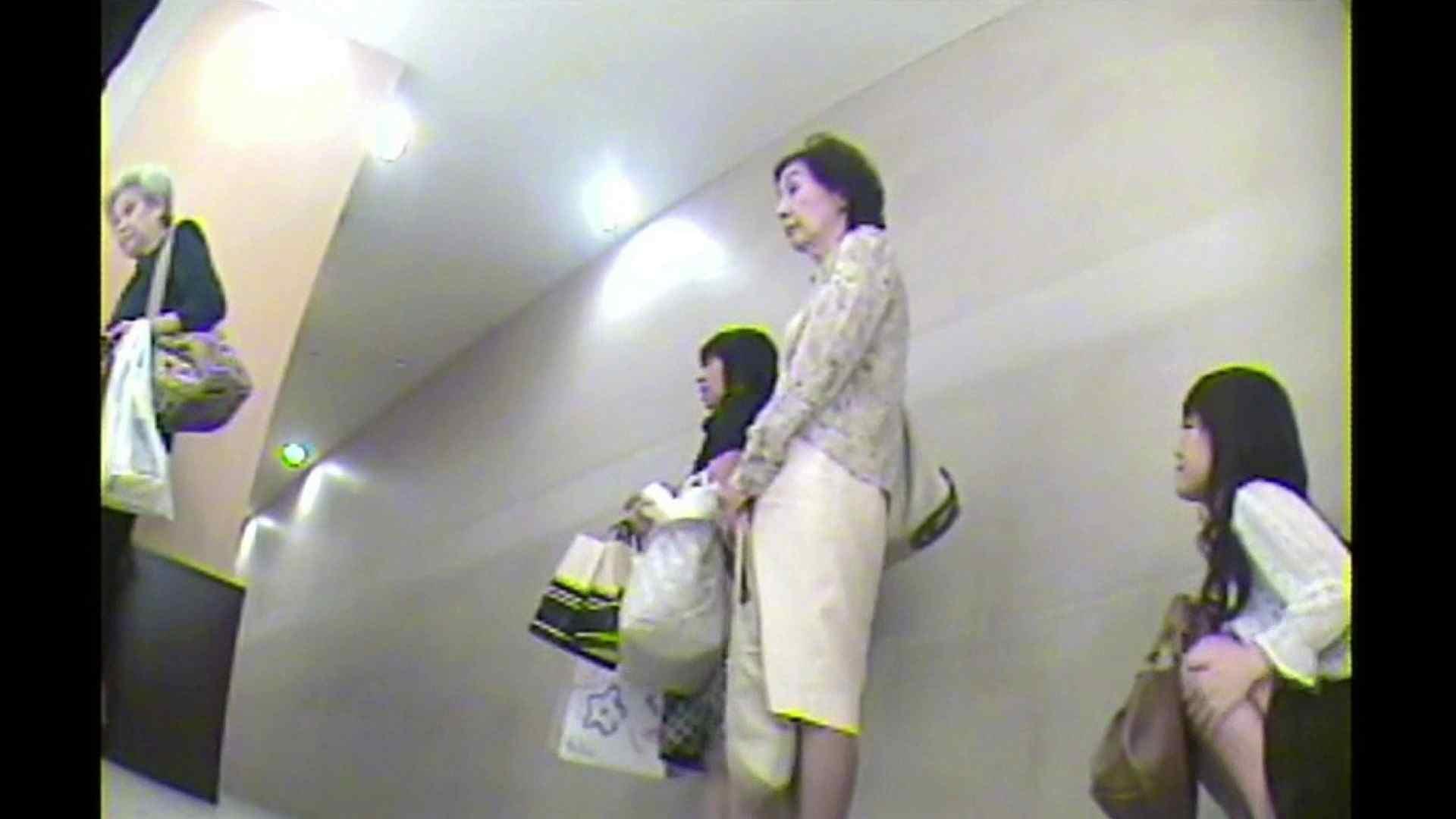 お漏らし寸前デパトイレ盗撮!Vol.02 洗面所 隠し撮りおまんこ動画流出 85画像 4