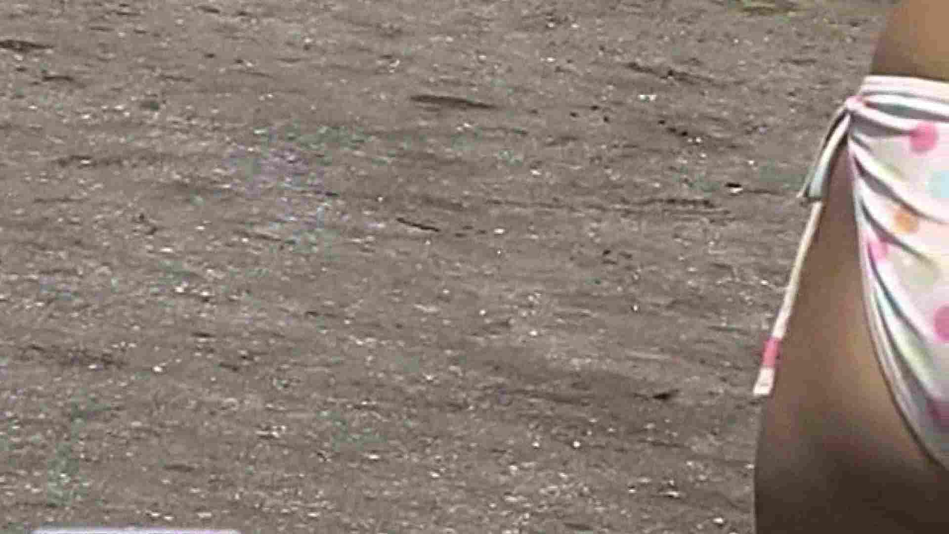 無修正エロ動画|盗撮ロボがイクッ!!~真夏のビーチ編~File.07|のぞき本舗 中村屋