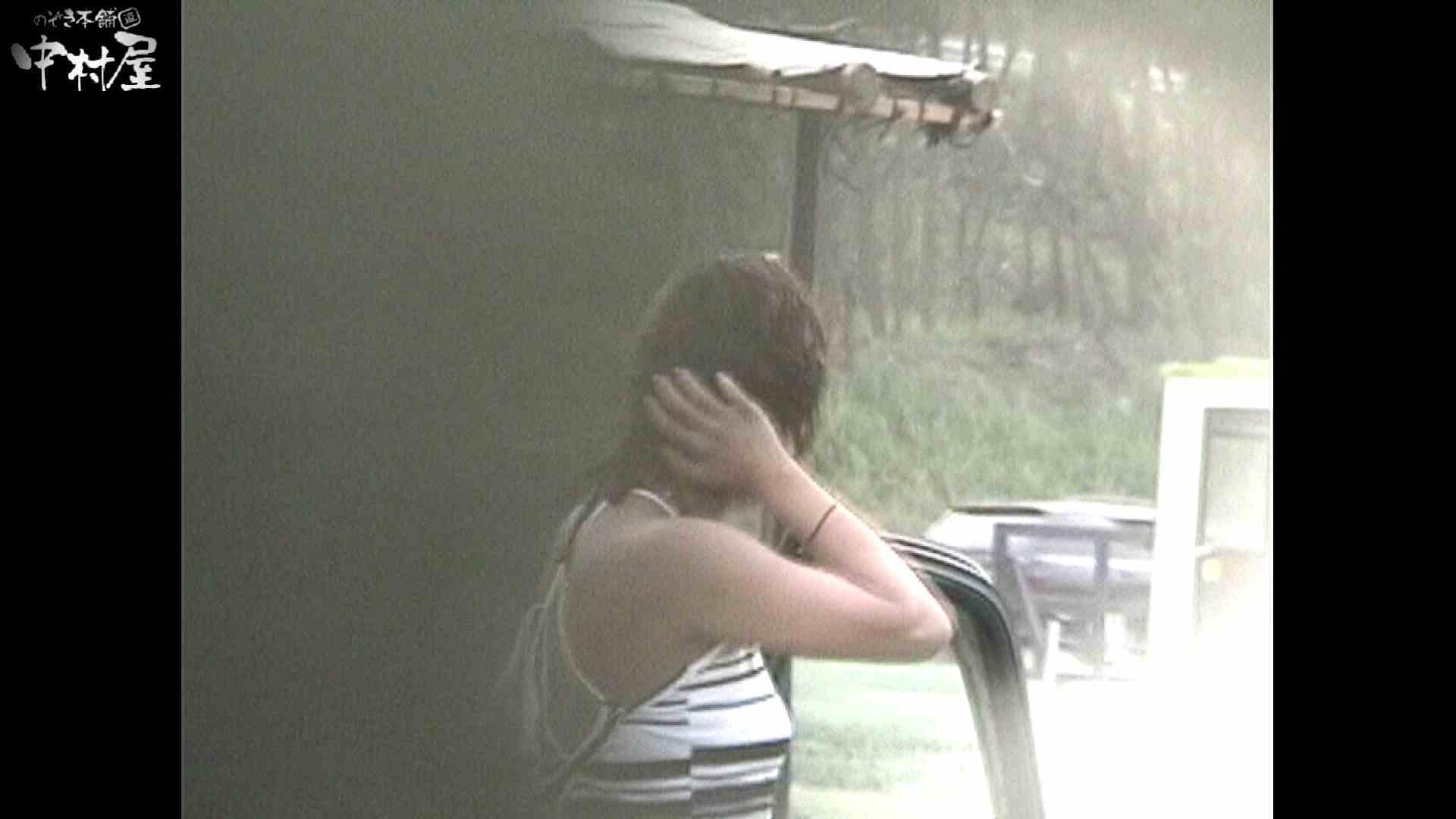No.16 アニマル柄の水着 レースのパンツにナプキンを装着する金髪お姉さん ナプキン  77画像 8