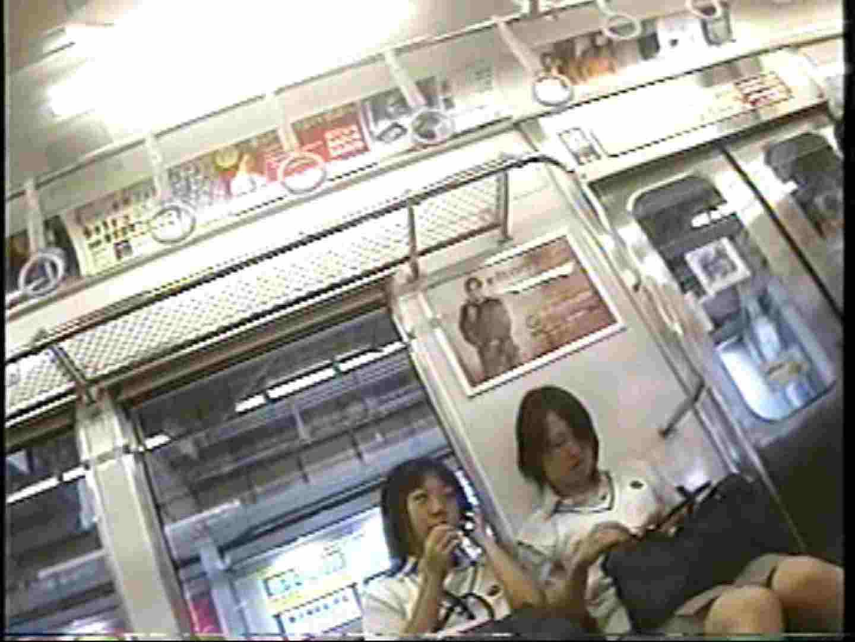パンチラトレイン③ チラ 盗み撮り動画キャプチャ 55画像 2