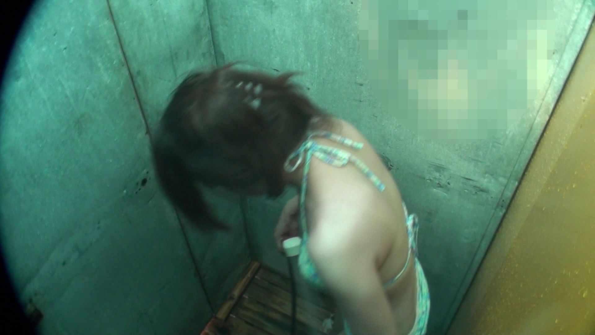 シャワールームは超!!危険な香りVol.15 残念ですが乳首未確認 マンコの砂は入念に マンコ無修正   シャワー  51画像 1