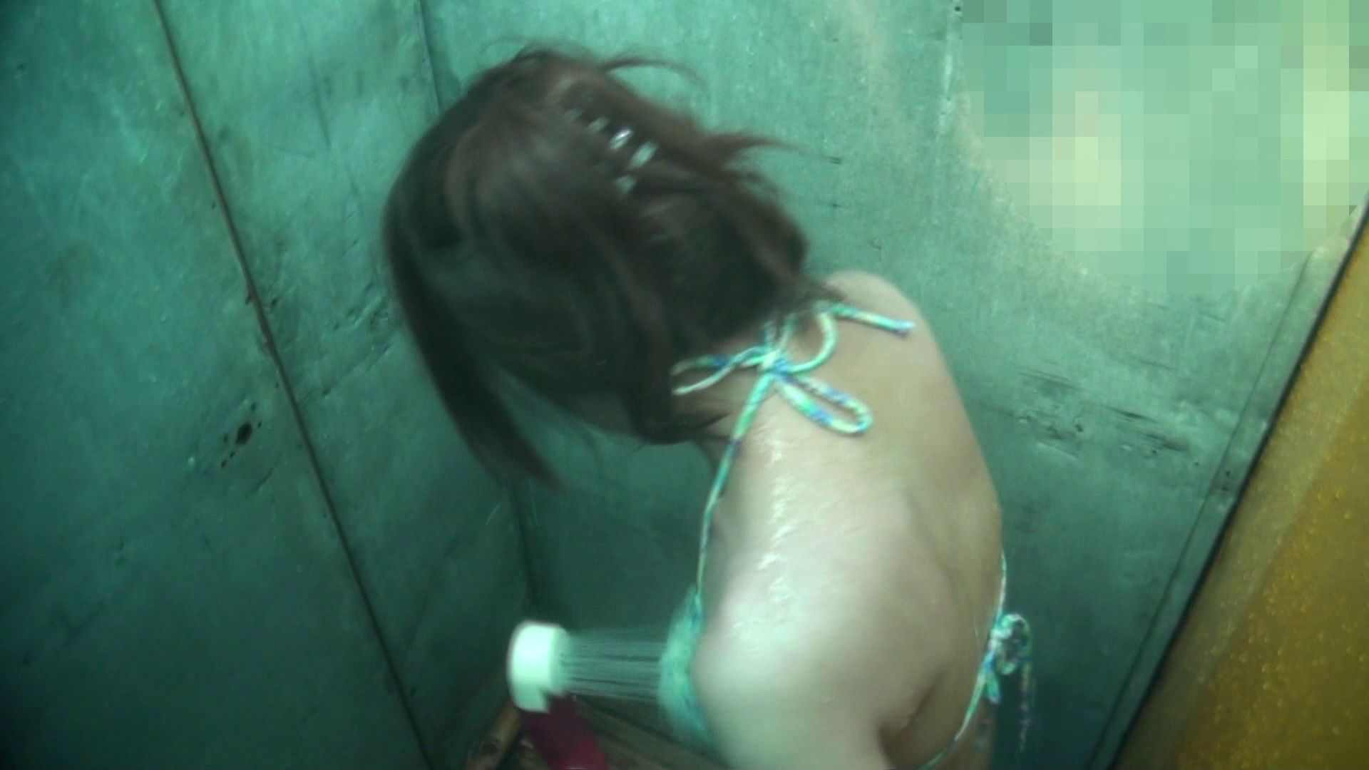 シャワールームは超!!危険な香りVol.15 残念ですが乳首未確認 マンコの砂は入念に 乳首ポロリ 盗撮ワレメ無修正動画無料 51画像 18