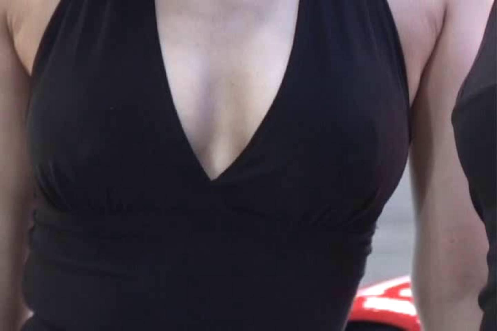 胸チラはもらった~!!胸元争奪戦!!Vol.2 胸チラ   OLセックス  73画像 49