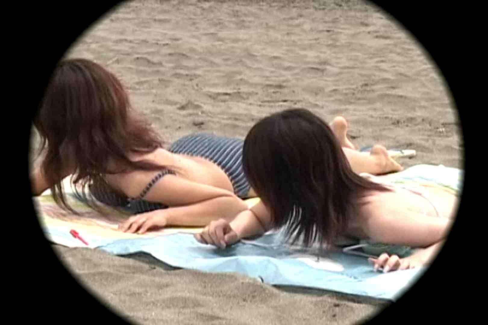 ビーチで発見!!はしゃぎ過ぎポロリギャルVol.4 胸チラ 盗撮ヌード画像 102画像 93